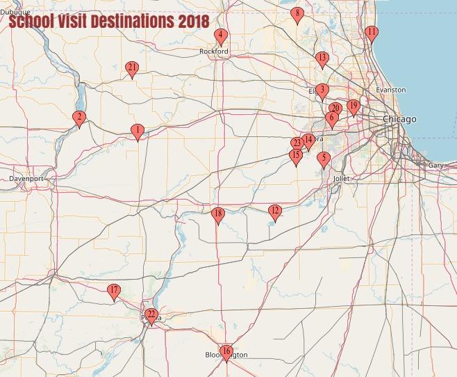 school visit destinations 2018